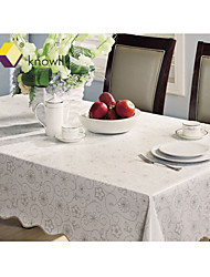 Knowll Tasteless Environmental Protection Waterproof Table Linens Hotel Table cloth   PVC