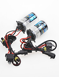 H4 35W 6000K HID Xenon Lights with Ballasts Kit (DC 9~16V)