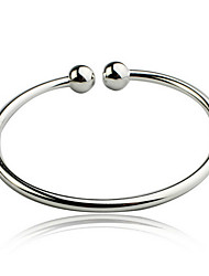 KIKI 925 Sterling Silver Bracelet simple garlic