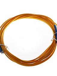 5м волоконно-оптический кабель с разъемами LC-LC BSM для систем волоконно Связь / сети оптоволоконного доступа и других систем