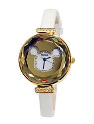 Top fashion girl's cartoon surface leather strap wrist watches DC-51041 Cool Watches Unique Watches