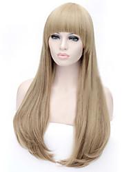 il nuovo colore del fumetto di biancheria parrucca di colore scegliere colore fibbia in lunghe parrucche diritte