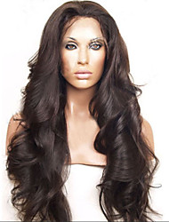 Brazilian Cheap Human Hair Wigs Body Wave Human Hair Full Lace Wig Black Color 130 Density