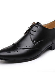 Men's Shoes Outdoor/Casual  Oxfords Black/Yellow