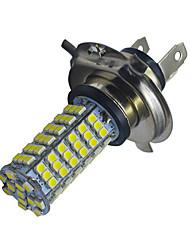 5W H4 Lampe de Décoration 102 SMD 3528 400-450lm lm Blanc Froid DC 12 V