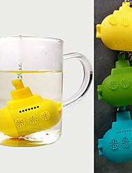 Cute Silicone Submarine Tea Infuser(Random Color)