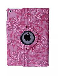 padrão de uva pu couro 360⁰ tampas inteligentes para iPad mini 1/2/3 (cores sortidas)