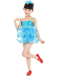 Shall We Ballet Dresses Children's Performance  Tulle Flower(s) Dress