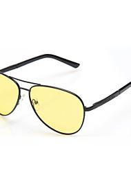 100% UV400 Men's flyer Driving Sunglasses