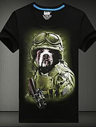 T-Shirts ( Algodão ) MEN - Casual