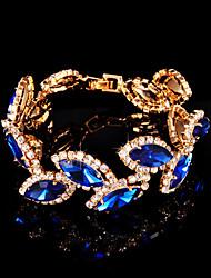 18 Karaats Verguld Dames Amulet Armbanden Bergkristal