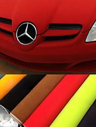 135 * 30 centímetros 8 cores de camurça tecido de veludo veludo filme carro filme carro adesivo autocolante interior decoração do corpo do