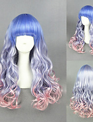 26inch Long Color Mixed Wave Synthetic Beautiful Lolita wig