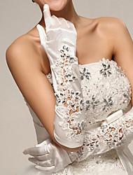 Satin Opera Length Wedding/Party Glove