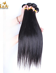 "3Pcs/Lot 10""-30"" Vietnamese Virgin Hair Color Natural Black Straight Human Hair Weaves"