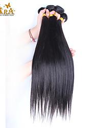 """3pcs / lot 10 """"-30"""" vietnamita colore di capelli vergine nera dei capelli umani diritto naturale tesse"""