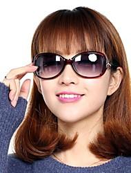 Sunglasses Women / Girl's Elegant / Lightweight / Retro/Vintage / Fashion / Polarized Oversized Black / Yellow / Red / Purple / Blue
