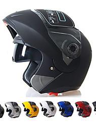 seguro flip-up de capacete de motocicleta com pala de sol interior acessível a todos jiekai-150