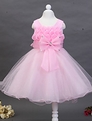 Kid's Casual/Cute/Party Dresses (Chiffon/Cotton/Organza/Rayon)