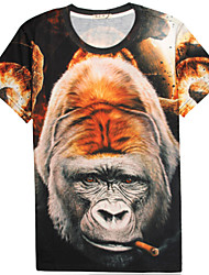 Men's Summer 3D Design T-Shirt