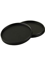82mm de metal atornillada en la caja de lente caso strorage pila de filtros para objetivos de cámaras