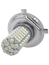 Car Modification Accessories 102-SMD3528 H4 18W LED White Light Fog Light 12V