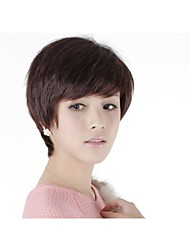Capless Short 100% Human Hair Wig