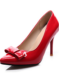 Women's Shoes Patent Leather Stiletto Heel Platform/Pointed Toe Pumps/Heels Dress Black/Red/White