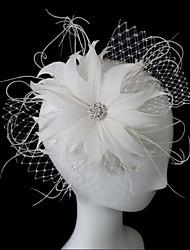 Women's Feather Headpiece - Wedding/Special Occasion Birdcage Veils