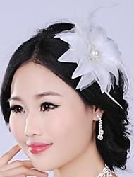 Luxurious Fashion  Simulation Flower  Pearl  Bridal Headpiece