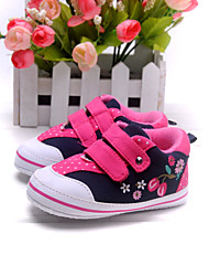 Baby Shoes Dress/Casual Fabric Fashion Sneakers Blue