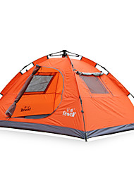 Hewolf Moistureproof Waterproof Polyester One Room Tent 1768-2 Green/Blue/Orange