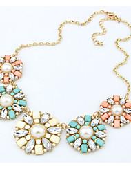 Abby Women's Fresh Flower Shape Necklace