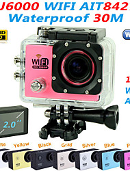 "EST SJ6000 1080P 2.0"" Touch Panel Camera Outdoor Action Cam 170 Degree Wide Angle Digital Mini Camcorder Sports Camera"