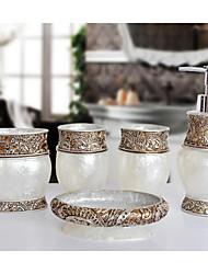 o padrão isabel banheiro Ware 5 conjuntos / branco