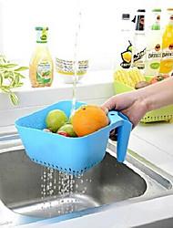 l'eau poignée carrée de vidange de fruits (couleur aléatoire)