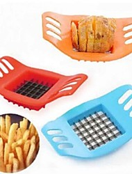 picador de batata batata criativo corte batatas fritas máquina de corte bar / batatas fritas ferramenta cor aleatória