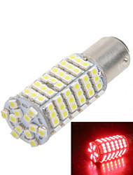 Car Modification Accessories 120-SMD3528 1156  21W LED Red Light Fog Light Brake Light Reversing Light (12V)
