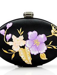 Handbag Silk Evening Handbags with Chinese Wind Flower Embroidery Jewelry Bag Handbag