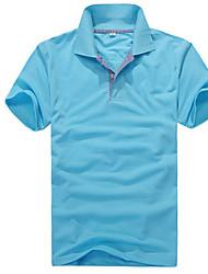 T-Shirts ( Coton/Viscose ) Vintage/Informel/Soirée/Travail Manches courtes pour Homme