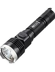 NITECORE P16 960 Lumens CREE XM-L2 T6 LED HAIII Tactical Flashlight Torch Light (1X18650/2XCR123, Black)