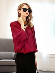 Women's Fashion Sexy/Beach/Casual/Plus Sizes Long Sleeve Shirt