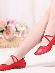 Sapatos de Dança (Preto/Vermelho/Outro) - Mulheres - Não Personalizável - Sapatilhas de Dança