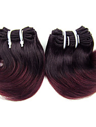 Brazilian Hair Ombre Hair Extensions 5A Body Wave Color 1B/99G Hair Weaves,3pcs/lot,100g/pcs,8inch Free Shipping