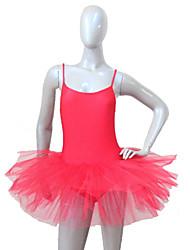 Balé Tutos e Saias Mulheres / Crianças Actuação Nailon / Tule / Licra 1 Peça Vestidos As the Size Chart