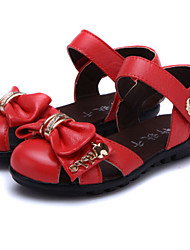 Baby Shoes Dress/Casual Leather Sandals Red/White