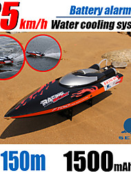 New!Large RC Racing Boat FT010 4CH Brushless Motor with Water Cooling High Speed Racing RTR 2.4GHz Control