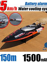 neu! große rc Rennboot ft010 4ch bürstenlosen Motor mit Wasserkühlung Hochgeschwindigkeitsrennen rtr 2.4ghz Steuer