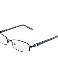 [livres] lentes de metal retângulo full-aro óculos de grau de moda