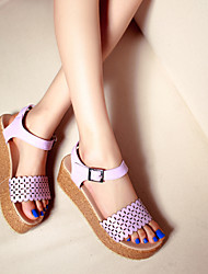Women's Wedges Heel Boats with Slip-on Shoes More Colors